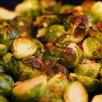 Roasted Brussels Sprouts with Pancetta and Anchovy Butter Sauce (Trust Me!)