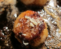 Pan-Seared Scallops with Meyer Lemon