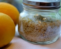 Quick and Easy Meyer Lemon Finishing Salt