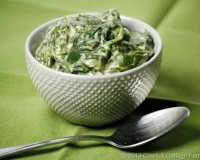 Comfort from the Winter Garden: Creamed Kale