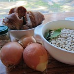 Basic Ingredients for White Bean Soup