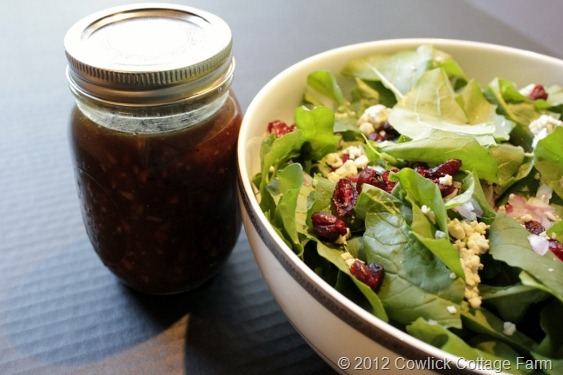 Arugula Salad With Honey Pecan Vinaigrette