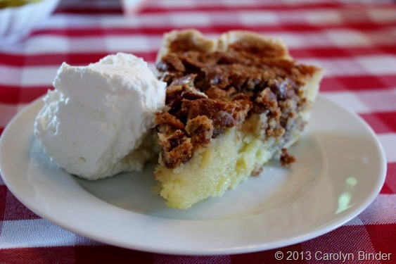 Buttermilk Pecan Pie, P. Allen Smith