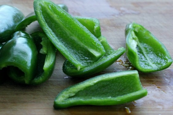 Jalapenos from the garden