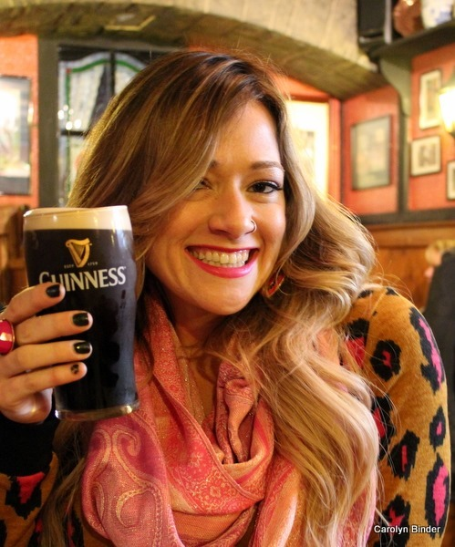 Heather's First Guinness
