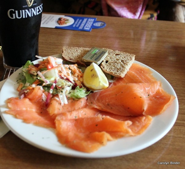 Burren Smokehouse Salmon and Guinness
